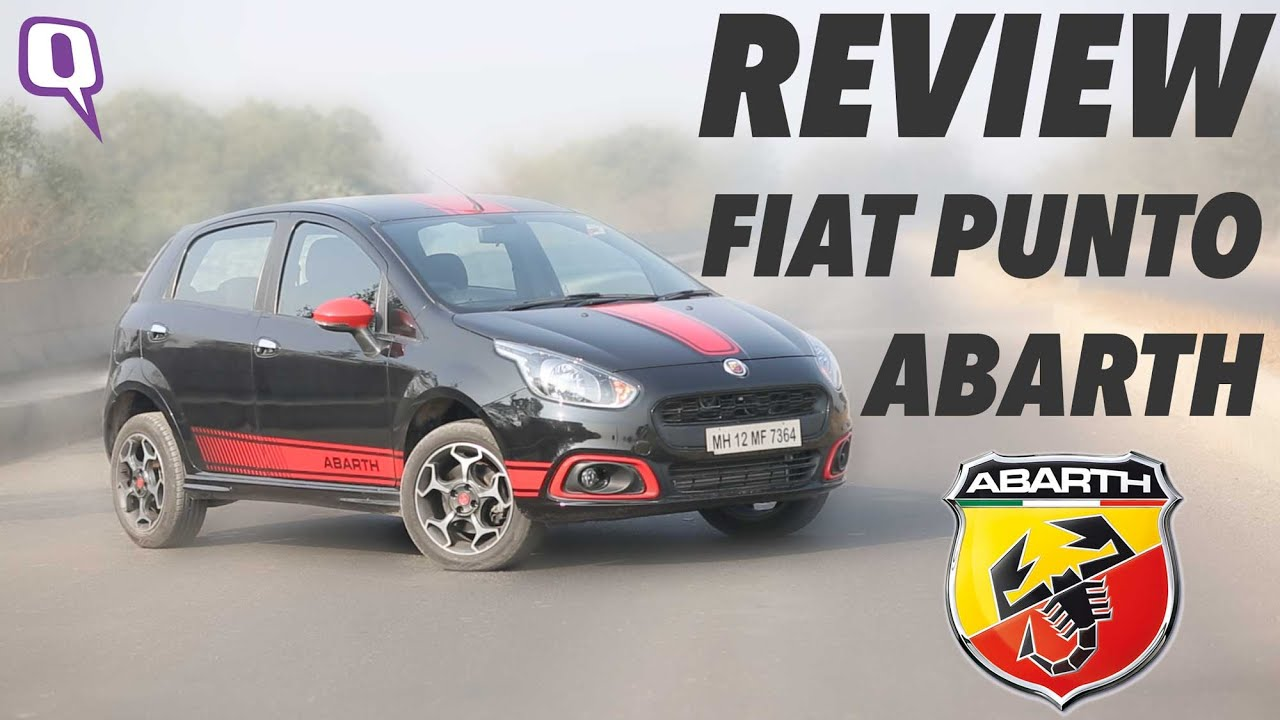 review: the 145 bhp monster fiat punto abarth - youtube