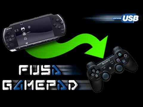 Использование PSP как джойстик/геймпад для своего PC