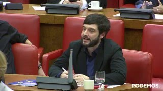 Intervención de Pablo Bustinduy en la Comisión de Exteriores el día 17 de Febrero de 2016
