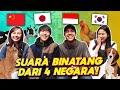 ngakak perbedaan suara binatang indonesia vs jepang vs china vs korea