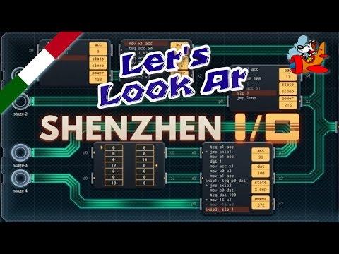 Let's Look at SHENZHEN I/O [Gameplay ITA]