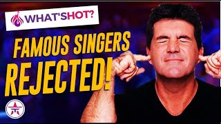 """10 Famous Stars That Got """"NO"""" From The Judges At Their Audition on Talent Shows 