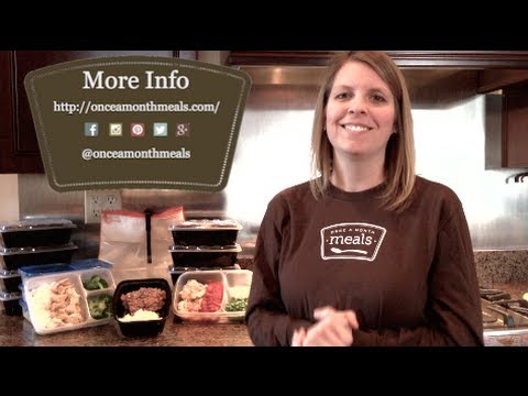 Single Serving Freezer Meals from OAMM - YouTube