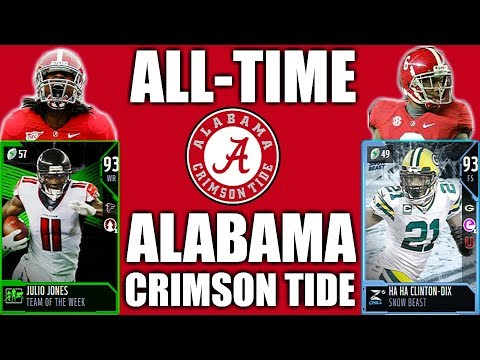 All-Time Alabama Crimson Tide vs. All-Time Georgia Bulldogs ft. MikeMAACC! Madden 18 Ultimate Team