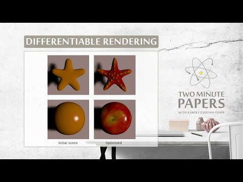 Differentiable Rendering is Amazing!