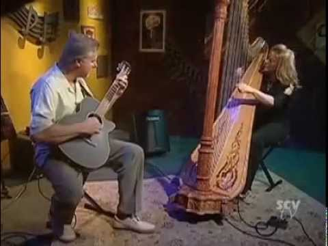 Lori Andrews, jazz harp and Bart Samolis, guitar