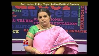 TSPSC - Police    Polity -  Indian Political System - P1    M. Deepika Reddy