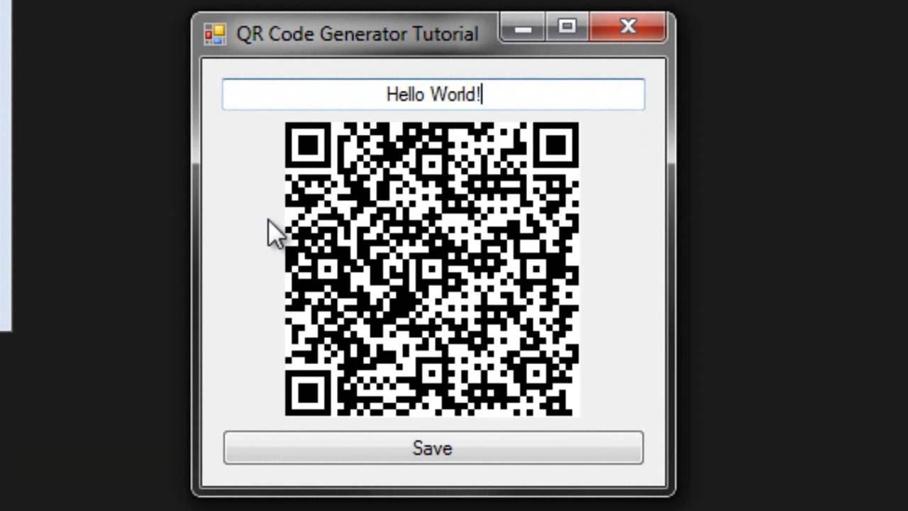 QR Code Generator In VB 2015