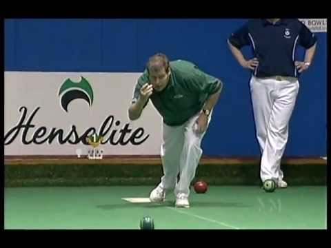 Lawn Bowls: 2007 World Cup Singles Melors Vs Henry  (1st Semi)