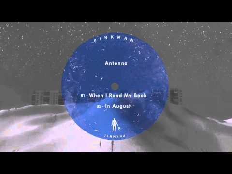 Antenna - When I Read My Book (PNKMN12)
