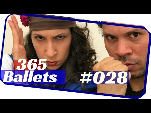 Fun ballet dance/ballet dance duet - 365 ballets. nyc ballet 028