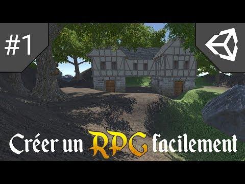 Créer Un RPG Facilement Sur Unity 3D : #1 Création Du Projet Et Du Terrain