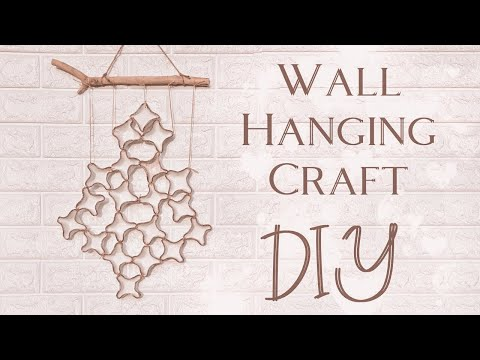 💠 Wall Hanging Craft (DIY) 💠