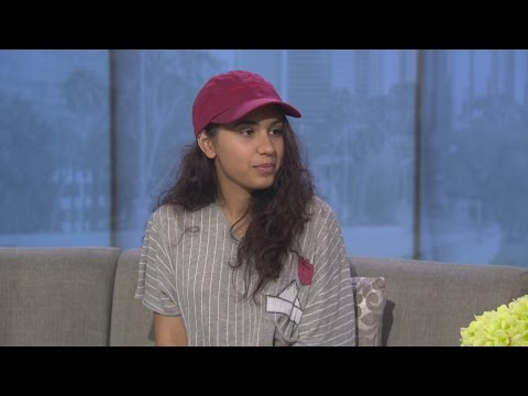 Breakout artist Alessia Cara promotes...