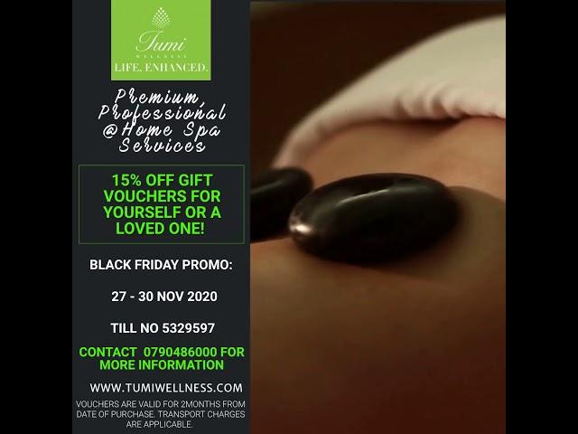 Premium, professional At Home Spa Services in Nairobi!