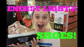 💥SKETCHERS ENERGY LIGHTS SHOES!💥| BACK TO SCHOOL SHOPPING!👟FIRST DAY TV
