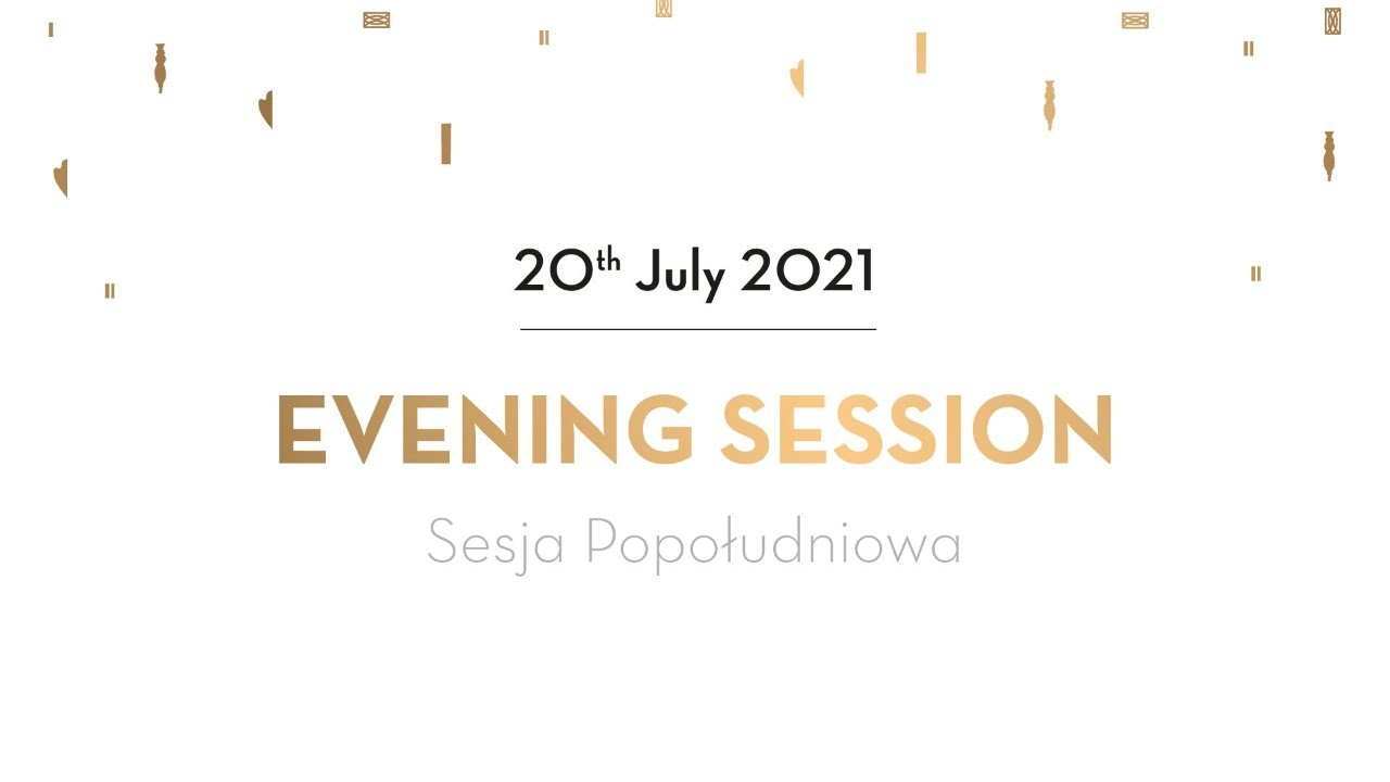 Day 9 - Evening Session - Preliminaries - 18th International Fryderyk Chopin Piano Competition