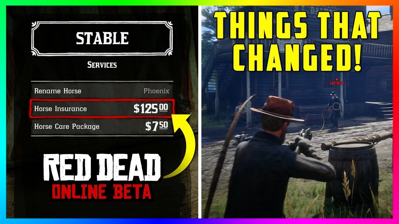 10 Things That Were Changed In Red Dead Online With The NEW Update That You Don't Know About! (