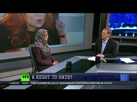 Free Speech & Anti-Muslim Bigotry Hate Speech?