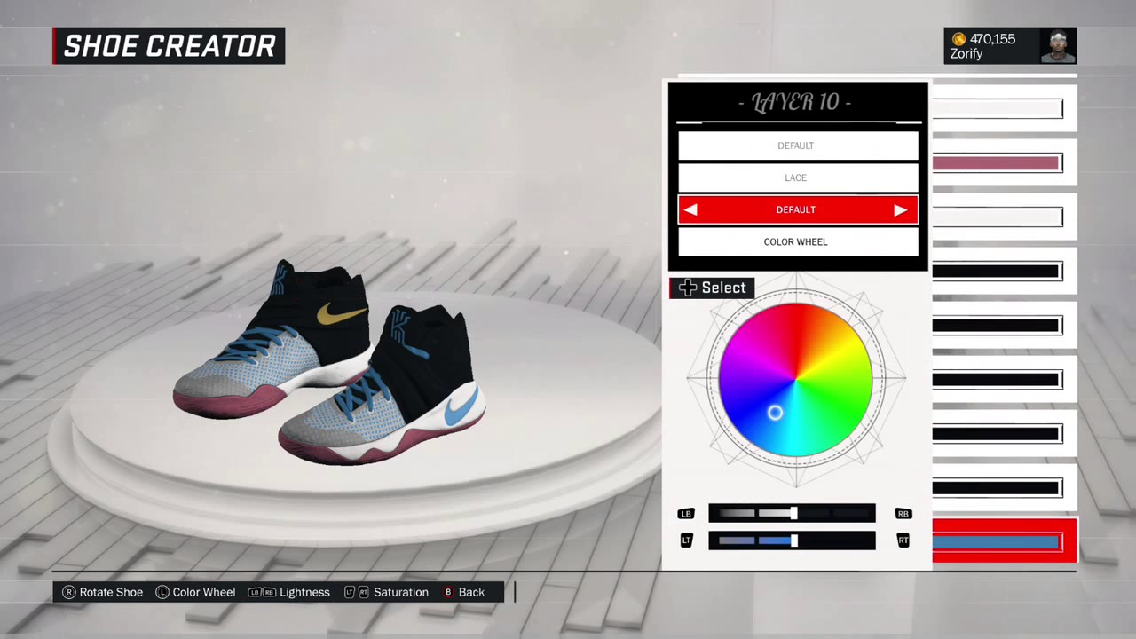 NBA 2K17 Shoe Creator - Nike Kyrie 2