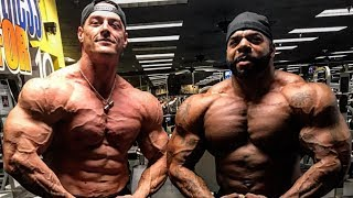 6'7 305LBS SHREDDED VS 6'3 290LBS SHREDDED - ROAD TO THE PRO'S
