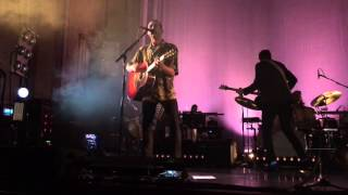 The Last Shadow Puppets - Meeting Place + Aviation live @ Usher Hall (Edinburgh UK)