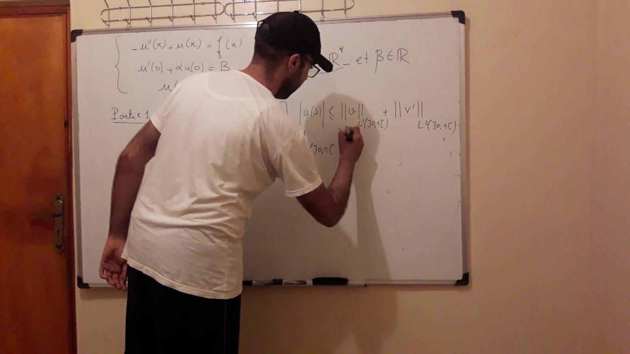 Équation aux dérivées partielles exercice corrigé - YouTube