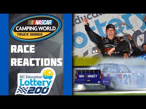 2010 North Carolina Education Lottery 200 - Brent Raymer