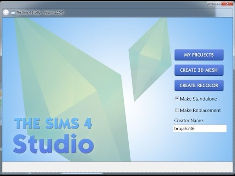 The Sims 4 Studio: New Earring Accessory - Mesh Tutorial