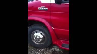 2006 E-450 cutaway fifth wheel gooseneck toy hauler w/sleep