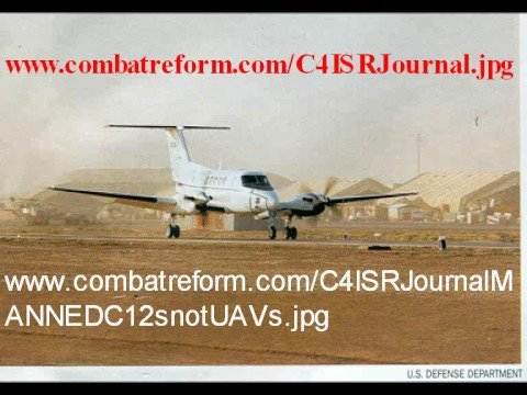 UAVs SUCK DoD Sends MANNED RC-12 Turboprops to Iraq/A-Stan