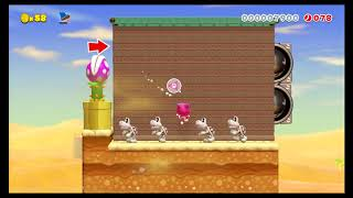 Super Mario Maker 2 - Easy and Short Floor is Lava - ID   85Q-KDS-WJG