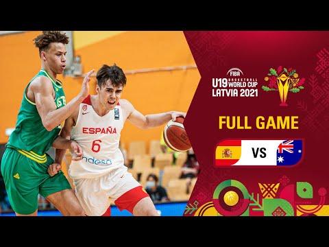 Spain v Australia | Full Game - FIBA U19 Basketball World Cup 2021