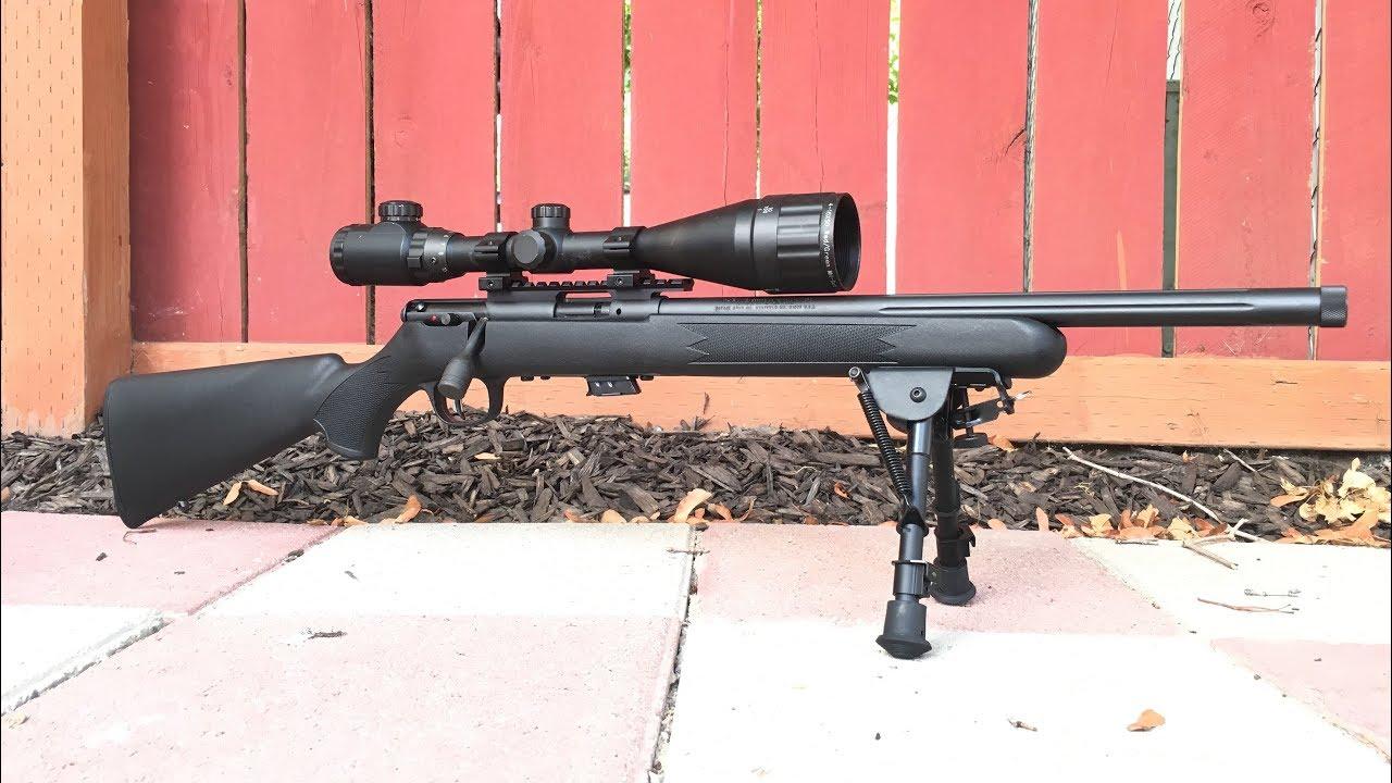 Firearm Friday: Savage MKII FV-SR  22lr Overview