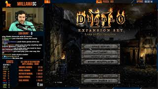 Diablo 2 - Any% Druid Speedrun Attempts (11/06/2018)