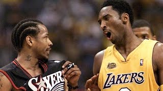 Kobe Bryant OBSESSIVELY Studied Sharks Hunting Seals To Guard Allen Iverson