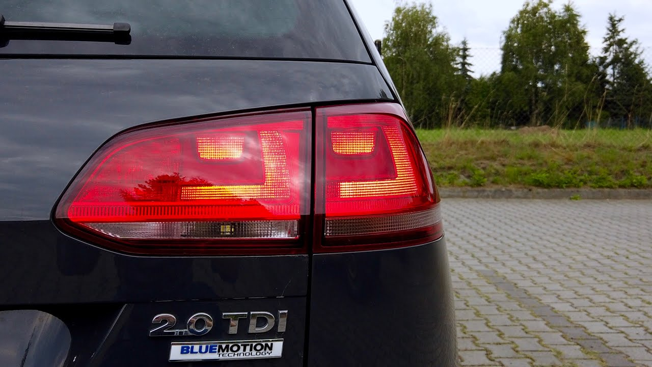 Vw Golf Mk7 Rear Lights With Drls Activation With Obdeleven Youtube