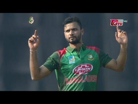 Mashrafe's 3 Wickets Against Windies | 1st ODI | Windies tour of Bangladesh 2018