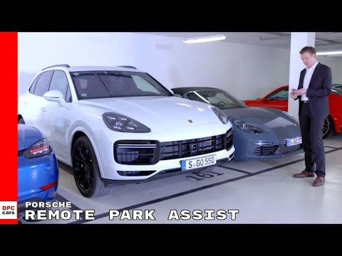 2019 Porsche Cayenne Turbo Remote Park Assist