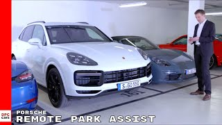 2019 Porsche Cayenne Turbo Remote Park Assist