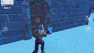 Secret underground early Access in polar peak(fortnite mobile)NOT CLICKBAIT