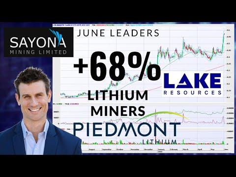 Top 6 Lithium Stocks   LLKKF Lake Resources   Sayona Mining SYA ASX   ASX Leaders