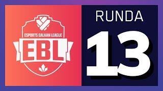 EBL LoL Runda 13 - CZV vs WILD w/ Sa1na, Micko i Djordje Djurdjev