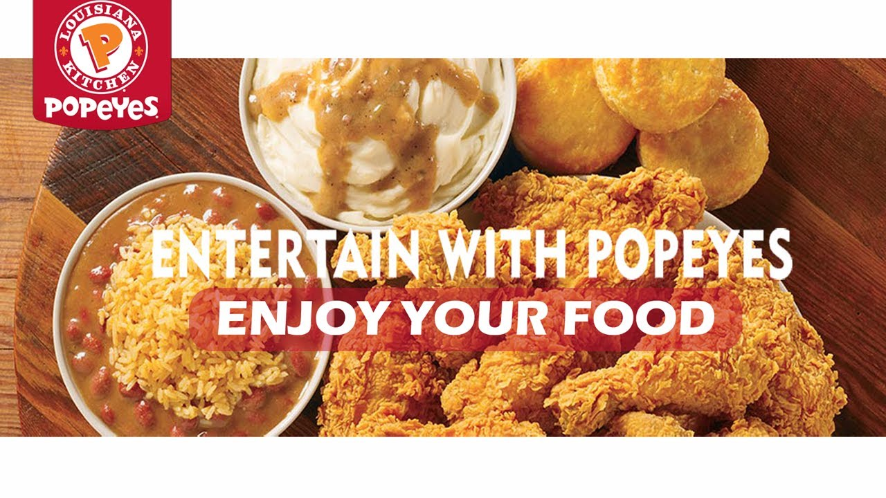 Popeyes Louisiana Kitchen Food popeyes louisiana kitchen food menu review|how to get $50 gift