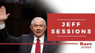 """""""I don't recall"""" a compilation of Jeff Sessions' memory lapses 