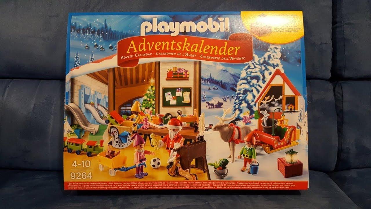 Calendario Avvento Playmobil.Calendario Dell Avvento Playmobil 1 Dicembre 2017