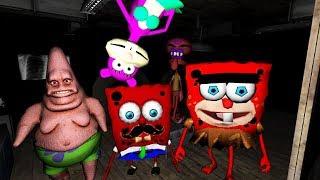СРАЗУ 5 МОНСТРОВ СПАНЧБОБА В БОЛЬНИЦЕ - Sponge Hospital Five Nights at Red Bob 3D