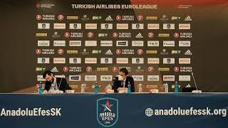Anadolu Efes – FC Barcelona Basın Toplantısı
