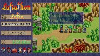 Lufiathon 2016 - Lufia: The Ruins of Lore by Crrool in 8:56:59 [Part 2/2]