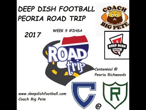 Deep Dish Football Update for 10/14/2017 Peoria Road Trip, Visiting Colleges in the Winter
